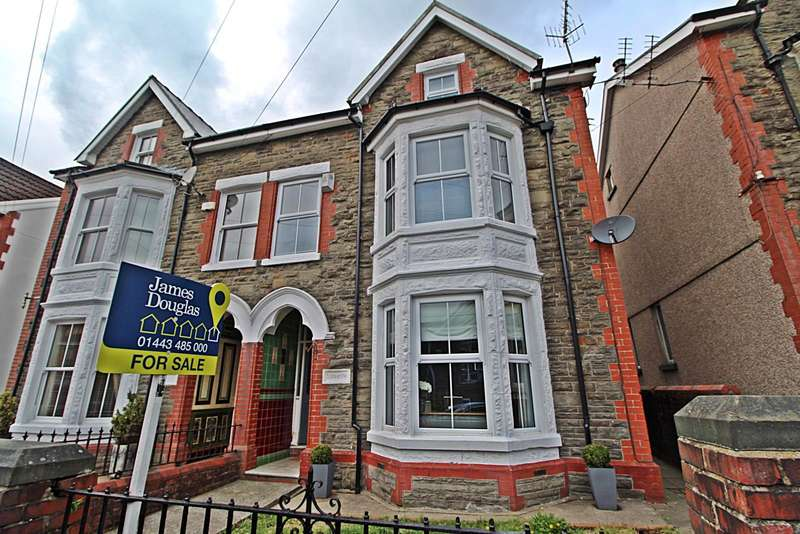 5 Bedrooms Semi Detached House for sale in Glyncoli Road, Treorchy, Rhondda Cynon Taff, CF42 6SA