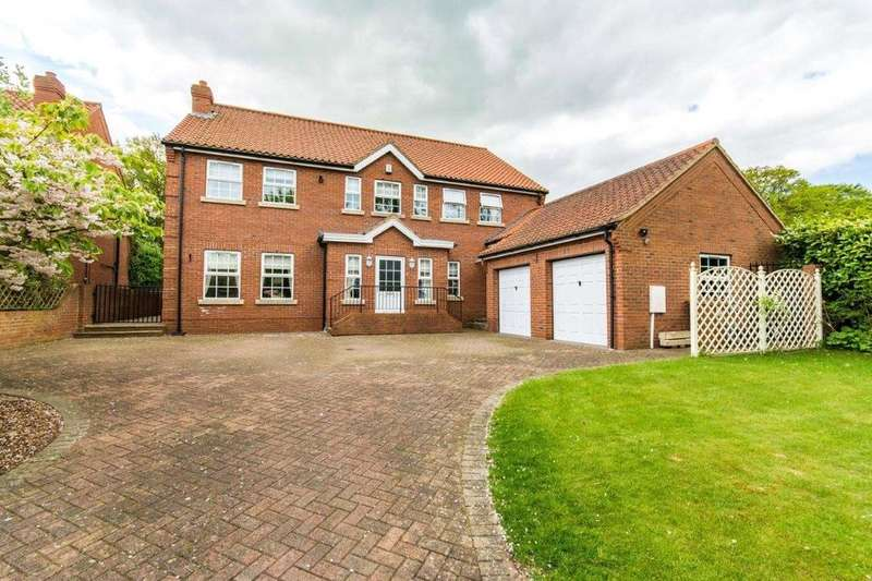4 Bedrooms Detached House for sale in Old Main Road, Barnoldby le Beck, N E Lincolnshire, DN37