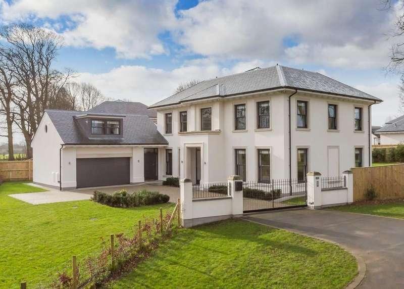 5 Bedrooms Detached House for sale in 9 Aldcliffe Hall Drive, Aldcliffe, Lancaster LA1 5BG