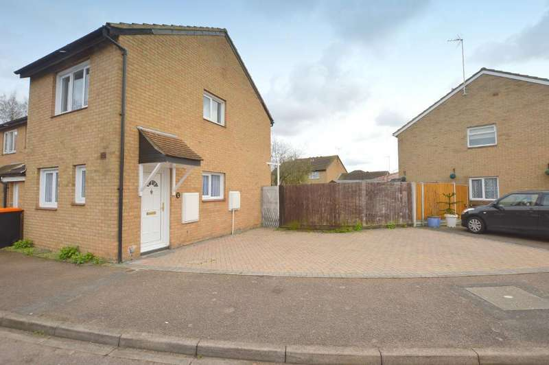 2 Bedrooms End Of Terrace House for sale in Cumbria Close, Houghton Regis, Bedfordshire, LU5 5RY