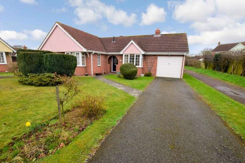 3 Bedrooms Detached Bungalow for sale in Maple Way, Leavenheath, Colchester, CO6 EPQ
