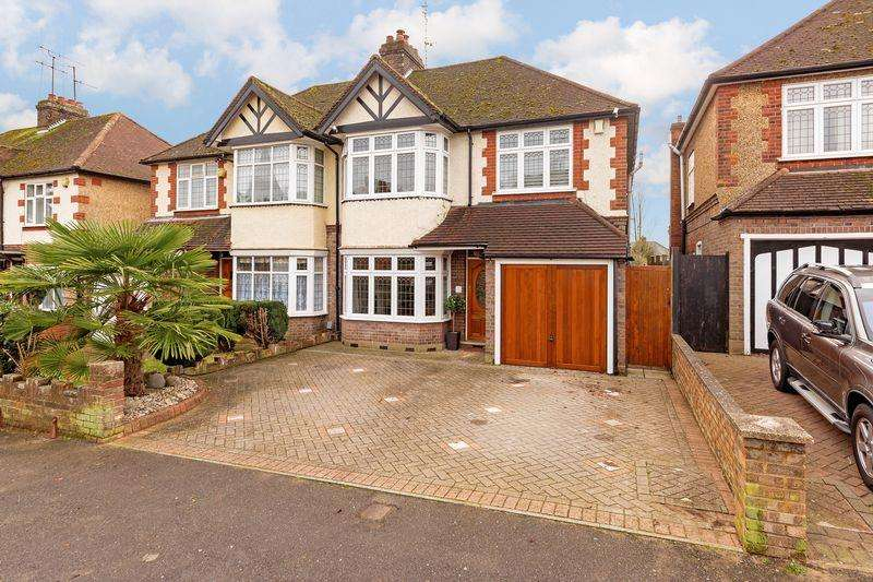 4 Bedrooms Semi Detached House for sale in Fountains Road, Luton