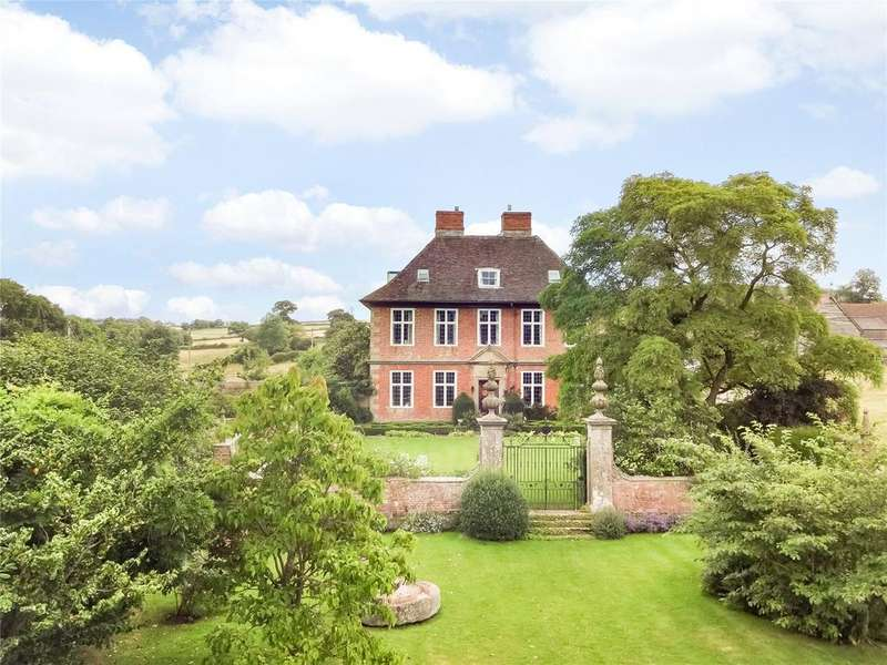 9 Bedrooms Detached House for sale in Llangarron, Ross-on-Wye, Herefordshire
