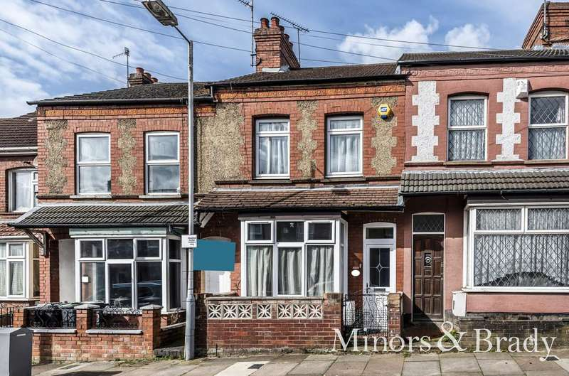 2 Bedrooms Terraced House for sale in Talbot Road, Luton