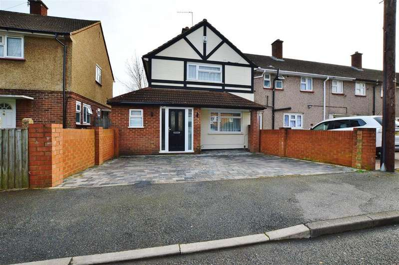 2 Bedrooms End Of Terrace House for sale in Thorndike, Slough