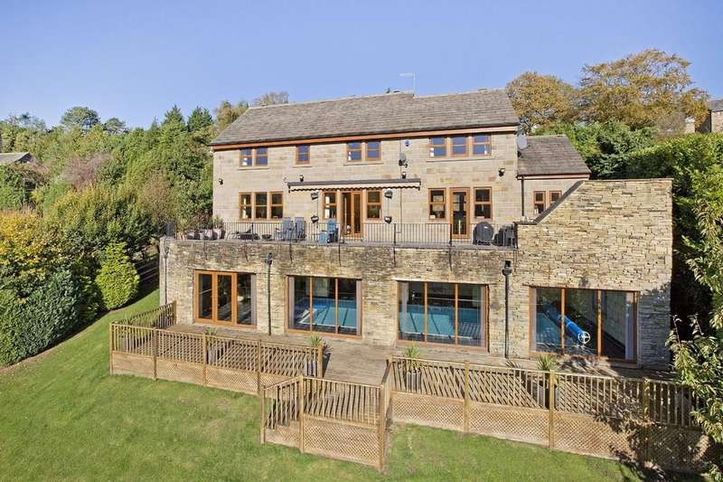 5 Bedrooms Detached House for sale in Owler Park Road, Middleton, Ilkley