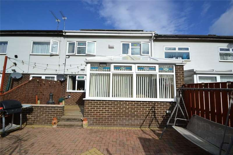 4 Bedrooms Terraced House for sale in Brecon Close, Peterlee, Co.Durham, SR8
