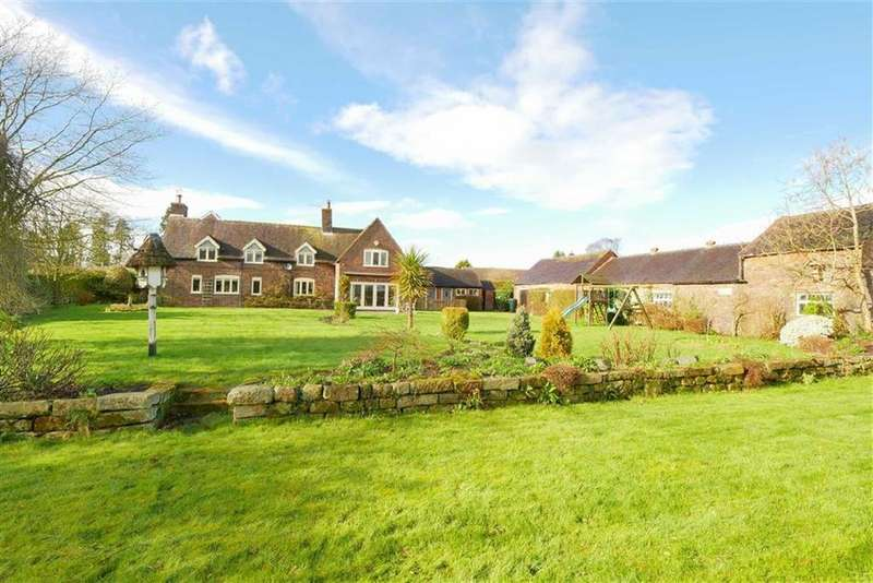 4 Bedrooms Detached House for sale in Mucklestone Lane, Norton In Hales, TF9