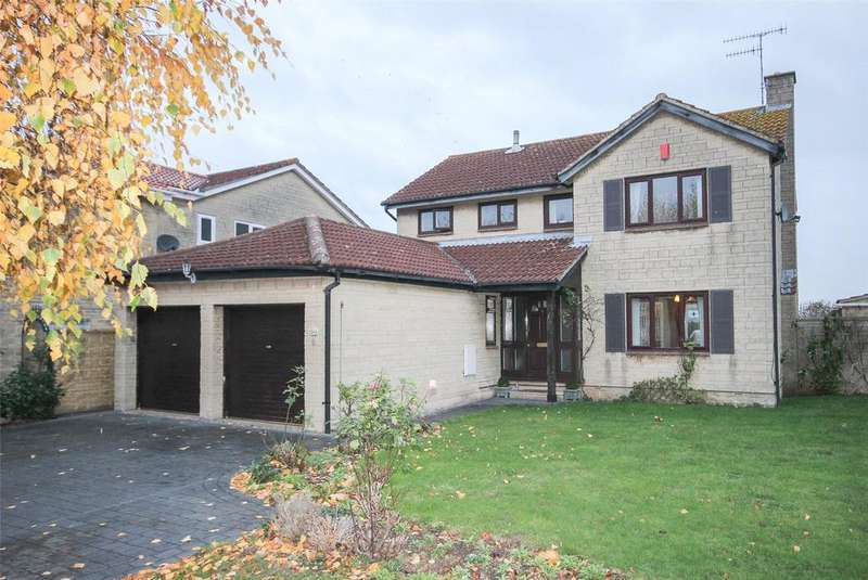 4 Bedrooms Detached House for sale in Home Farm Way, Easter Compton, Bristol, BS35