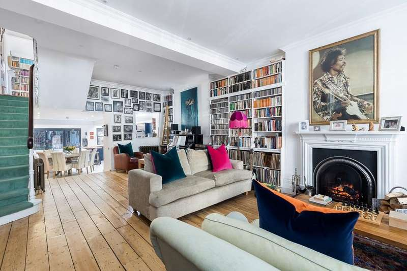 4 Bedrooms Terraced House for sale in Dewhurst Road, Brook Green, London, W14