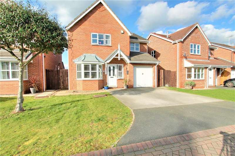 4 Bedrooms Detached House for sale in Clayton Close, Crewe, Cheshire, CW1