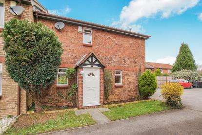 2 Bedrooms End Of Terrace House for sale in Foxcroft Close, Bradley Stoke, Bristol, Gloucestershire