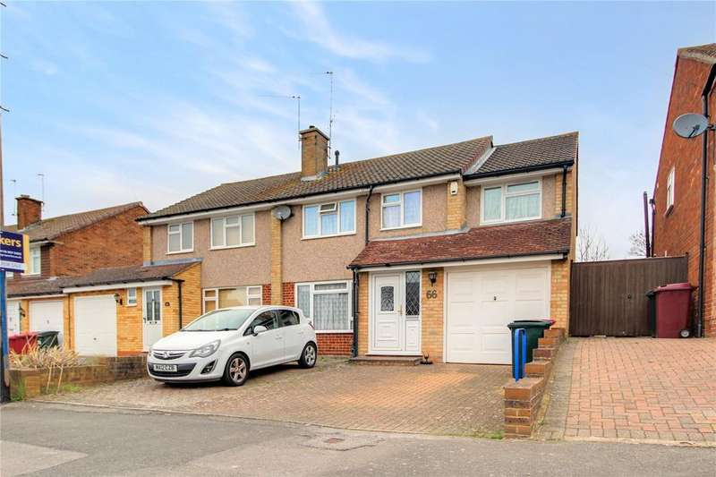 4 Bedrooms Semi Detached House for sale in Tintern Crescent, Reading, Berkshire, RG1