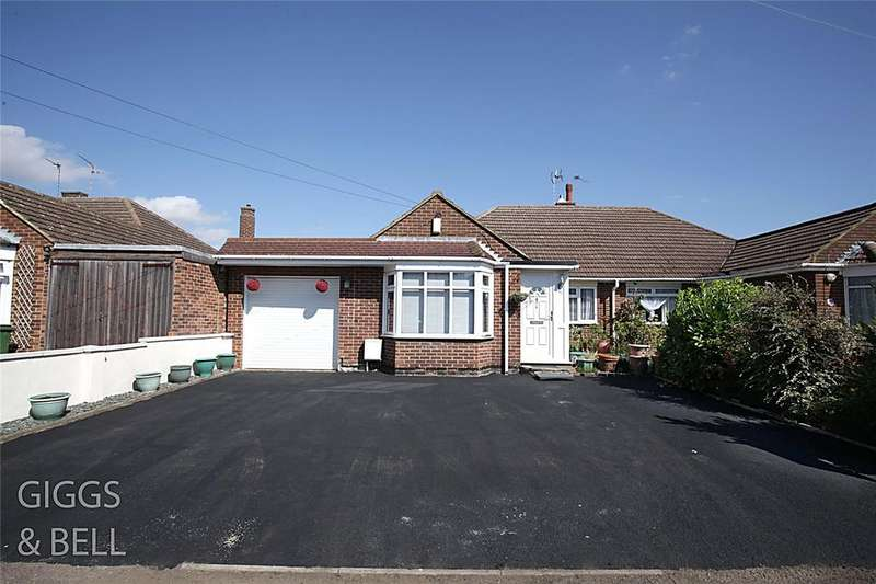 3 Bedrooms Semi Detached Bungalow for sale in Rossfold Road, Luton, Bedfordshire, LU3