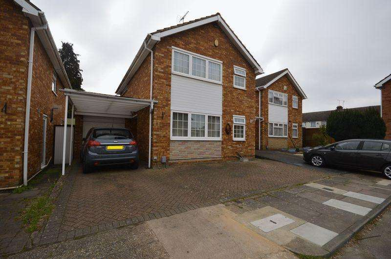 3 Bedrooms Detached House for sale in Lonsdale Close, Luton