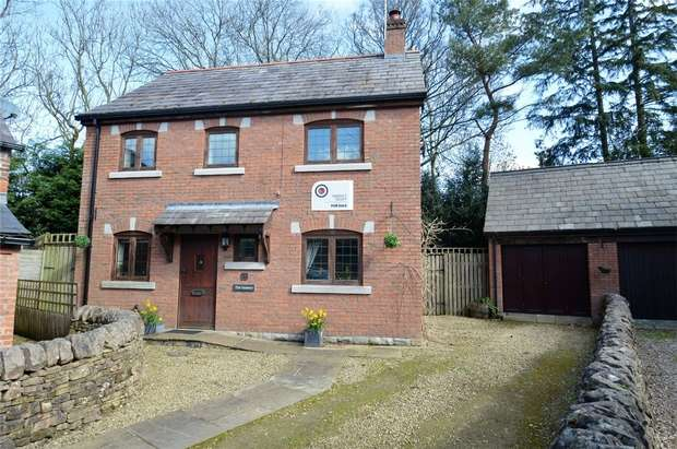 3 Bedrooms Detached House for sale in Bosley, Macclesfield, Cheshire