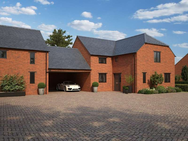 4 Bedrooms Semi Detached House for sale in Plot 15 The Redfield The Orchard, Norton