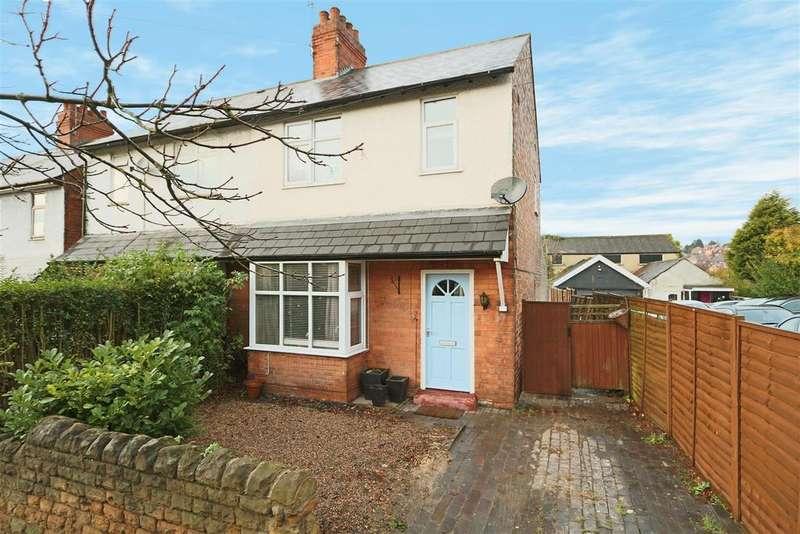 3 Bedrooms Semi Detached House for sale in Carlton Road, Carlton, Nottinghamshire, NG3 7AF