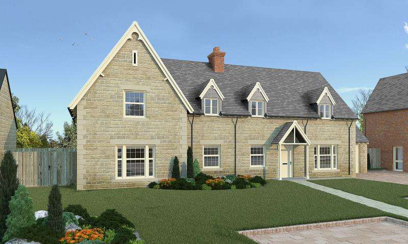 5 Bedrooms Detached House for sale in Stone House, Plot 32, Bow Road, Stanford in the Vale, Faringdon