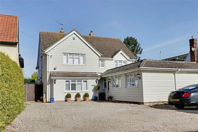 5 Bedrooms Detached House for sale in The Street, Sheering, Bishop's Stortford, Herts
