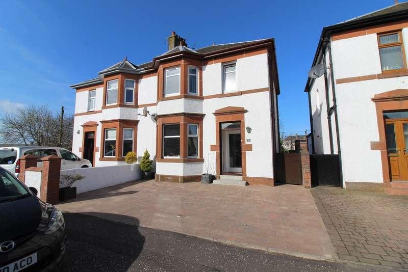 3 Bedrooms Semi Detached House for sale in Caerlaverock Road, Prestwick, KA9