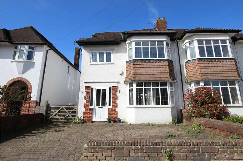 5 Bedrooms Semi Detached House for sale in Brean Down Avenue, Henleaze, Bristol, BS9