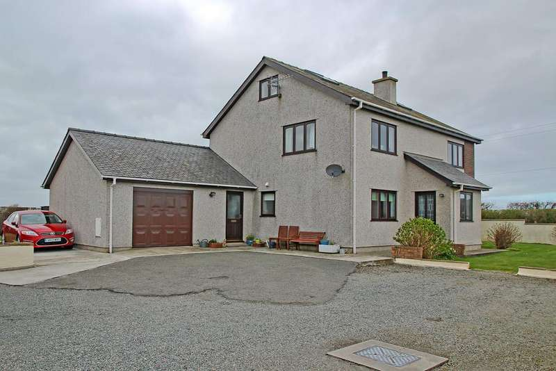 4 Bedrooms Detached House for sale in Llanfaelog, Ty Croes, North Wales