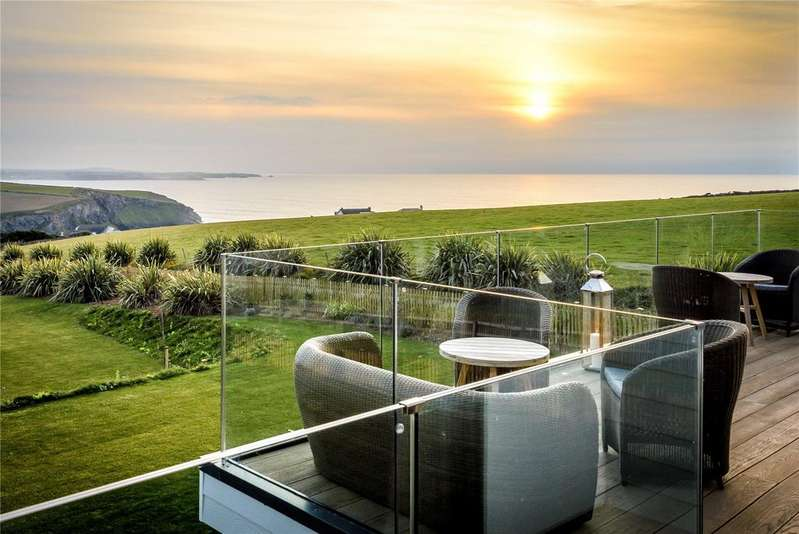 6 Bedrooms Detached House for sale in Trenance, Mawgan Porth, Cornwall, TR8