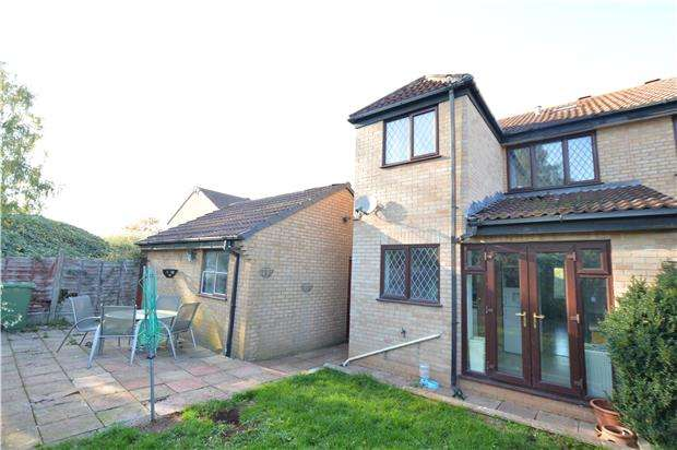 4 Bedrooms Semi Detached House for sale in Slimbridge Close, Yate, BRISTOL, BS37 8XZ