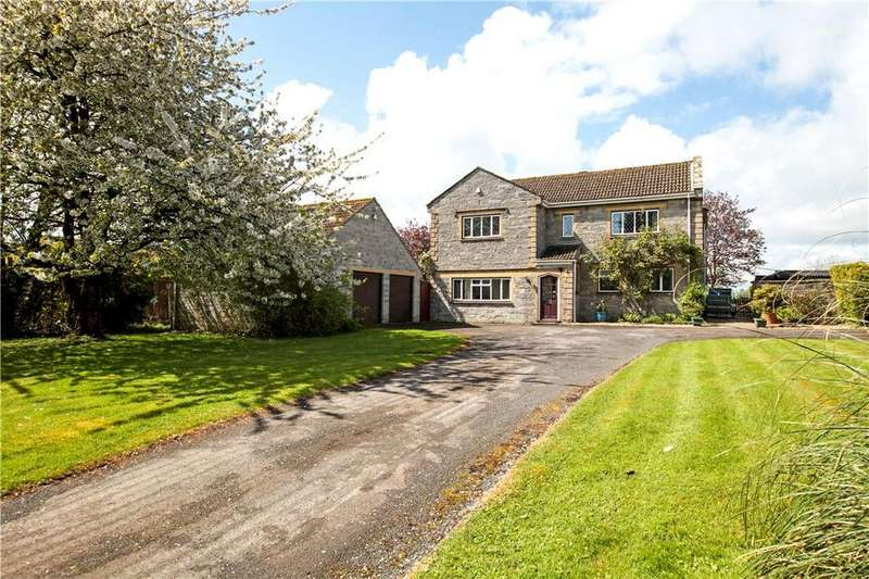 5 Bedrooms Detached House for sale in Hermitage Road, Upton, Langport, Somerset, TA10