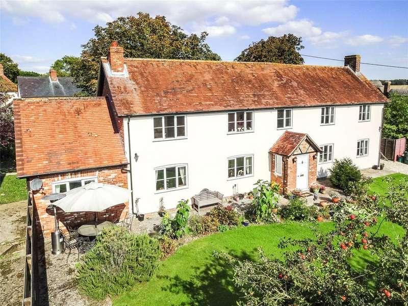 4 Bedrooms Detached House for sale in Shop Lane, Leckhampstead, Newbury, Berkshire, RG20