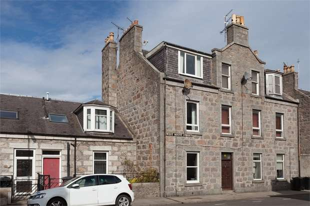 1 Bedroom Flat for sale in West Mount Street, Aberdeen
