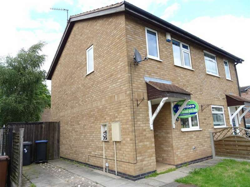 2 Bedrooms Semi Detached House for sale in BROSDALE DRIVE, HINCKLEY