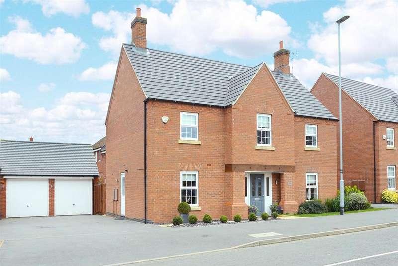 4 Bedrooms Detached House for sale in Barnards Way, Kibworth Harcourt