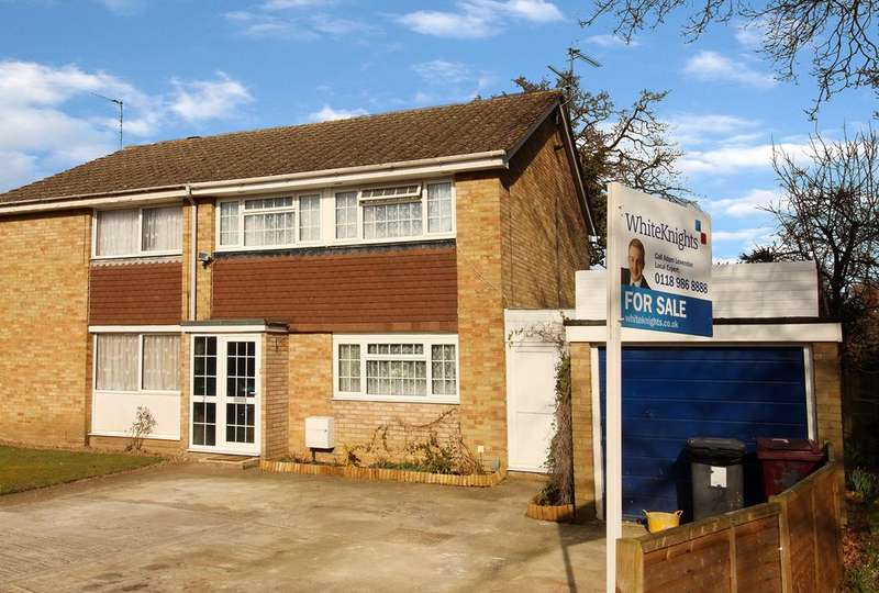 3 Bedrooms Semi Detached House for sale in Wheatley Close, Reading, RG2 8LP