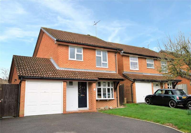 3 Bedrooms Detached House for sale in Somerset Close, Wokingham, Berkshire, RG41