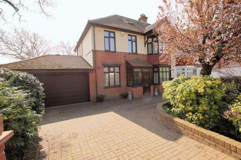 5 Bedrooms Semi Detached House for sale in Portchester Road, Down End