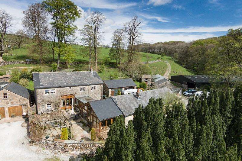 7 Bedrooms Detached House for sale in Dunsop Road, Newton In Bowland, Clitheroe, Lancashire. BB7 3ED