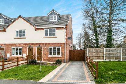 3 Bedrooms Semi Detached House for sale in Plas Pen Y Glyn, Flint Mountain, Flint, Flintshire, CH6