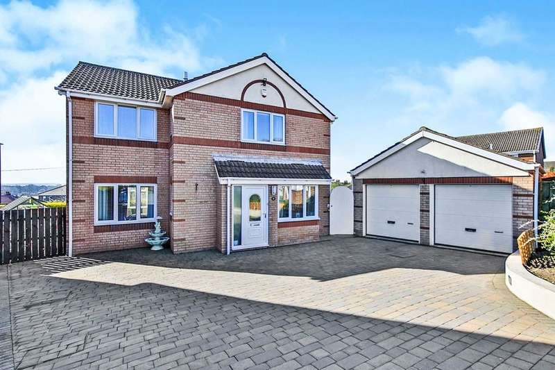 4 Bedrooms Detached House for sale in Baulkham Hills, Houghton Le Spring, DH4