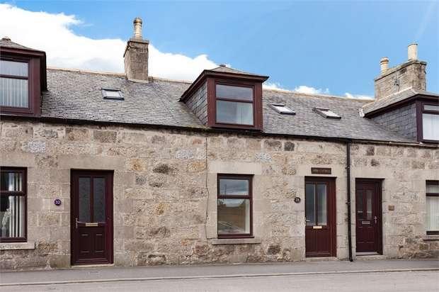 2 Bedrooms Terraced House for sale in Bridge Street, Strichen, Aberdeenshire