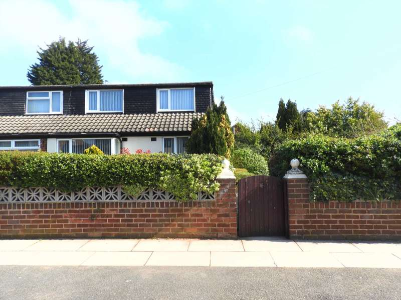 4 Bedrooms Semi Detached Bungalow for sale in Pitsmead Road, Southdene