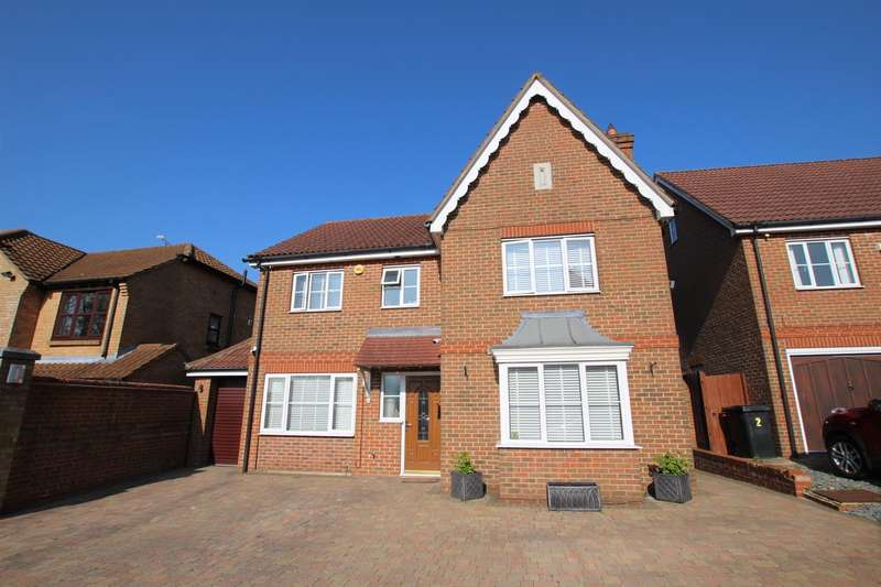 4 Bedrooms Detached House for sale in Portland Ride, Houghton Regis