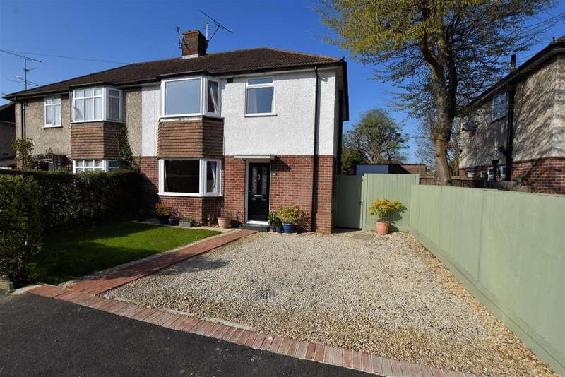 3 Bedrooms Semi Detached House for sale in Beverley Road, Tilehurst, Reading