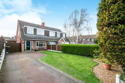 3 Bedrooms Semi Detached House for sale in Bury Road, Shefford, Bedfordshire, .