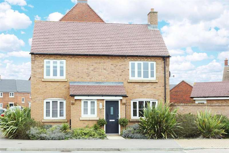 3 Bedrooms Detached House for sale in Polwell Road, Kibworth