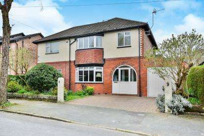 4 Bedrooms Detached House for sale in Lindop Road, Hale, Altrincham, Greater Manchester
