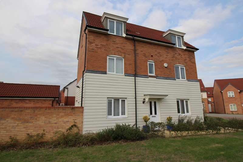 4 Bedrooms Detached House for sale in Sovereign Place, The Ryde, Hatfield, AL9