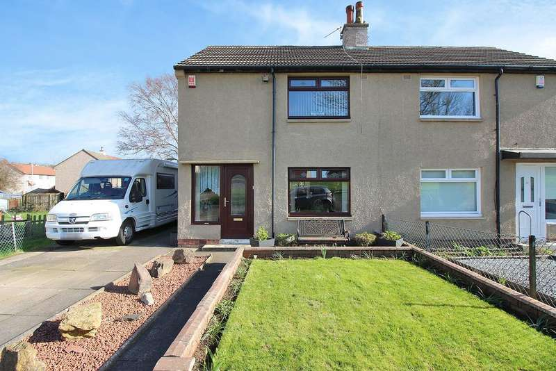 2 Bedrooms Semi Detached House for sale in Tinto Avenue, Bellfield, Kilmarnock KA1