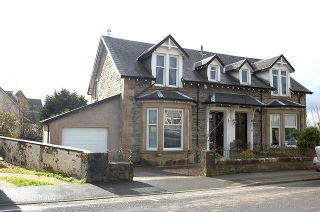 2 Bedrooms Semi Detached House for sale in 36 Royal Crescent, Dunoon
